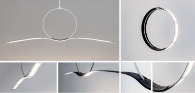 Sample OLED lighting designs, Lyteus 2019