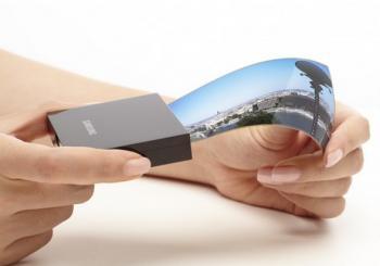 Samsung 5.7'' flexible OLED photo