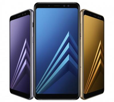 Samsung A8 2018 photo