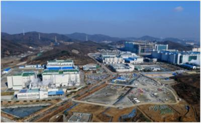 Samsung Display production hub, Tangjeong, South Chungcheong Province