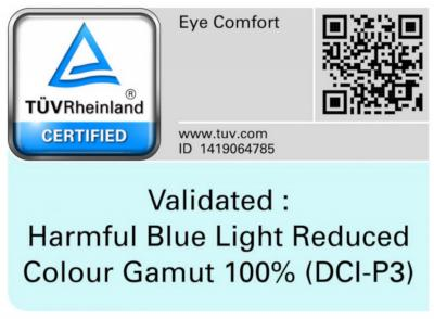Samsung AMOLED eye comfort certification from TUV Rheinland photo