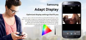 Samsung S4 Adapt Display photo