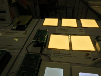 Solomon Systech SSD2355 OLED lighting driver at SID 2016
