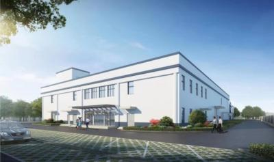 Solus Advanced Materials OLED plant in Changzhou - render
