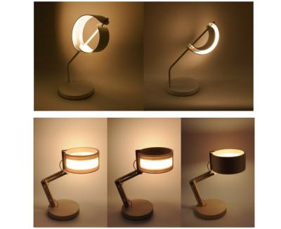 Ring EL and Crescent Moon OLED lamps photo (Sumitomo L&B 2018)