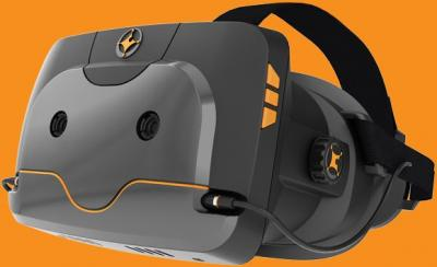 A VR headset powered by a Full-HD AMOLED attempts to raise