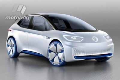 Volkswagen I.D. concept car front photo