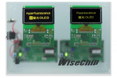 Wisechip yellow Hyperfluorescence pmoled product (Oct 2019)