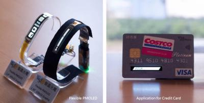 Wisechip flexible PMOLED prototypes (March 2017)