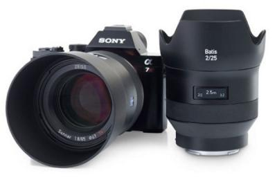 Zeiss Batis Sony lens photo