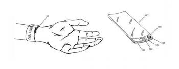 Apple 2011 flexible OLED watch patent
