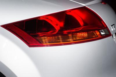 Audi TT 3D OLED side closeup