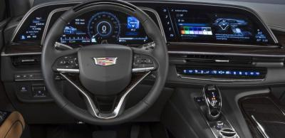 2021 Cadillac Escalade OLED display photo