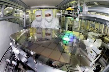 Production of AMOLED panels at Samsung (photo)