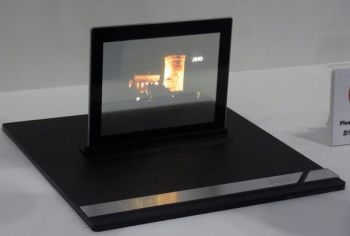 AUO transparent OLED prototype