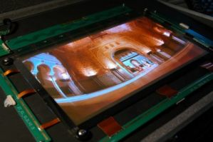 14-inch P-OLED prototype by CDT