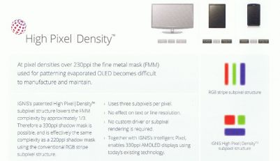 Ignis High Pixel Density brochure
