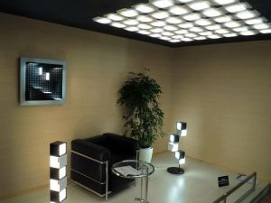 NEC Lighting OLED lighting at Japan Lighting Fair 2011 (photo)