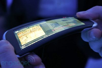 The 2011 Nokia Kinetic demonstrator