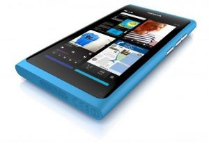 Nokia N9 blue photo