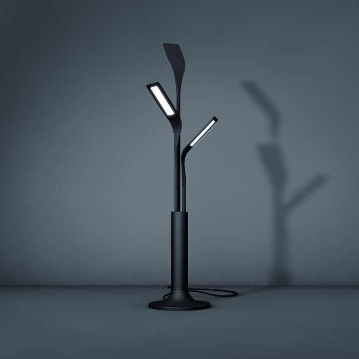 philips o 39 leaf oled lamp photo oled info. Black Bedroom Furniture Sets. Home Design Ideas