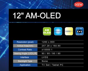 Tianma 12'' AMOLED prototype slide