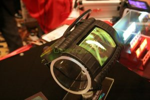 UDC Flexible OLED Display Concept photo from CES 2009