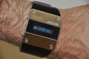 APUS OLED watch closeup photo