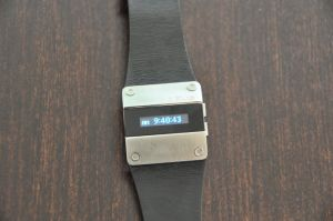 APUS OLED watch on table photo