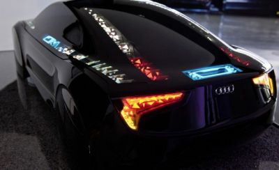 Audi OLED lighting concept, 2012