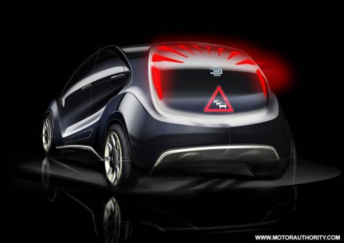 From Behind EDAG Light Cars Concept