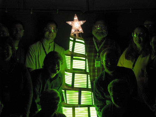 GE christmas tree 2008
