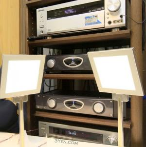 Kenwood OLED speakers