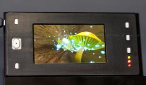 LG 3D OLED mobile display prototype photo