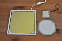 Lumiotec, Lumiblade and ORBEOS OLED lighting turned off
