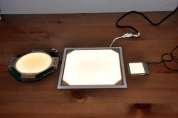 Prototype OLED lighting panels