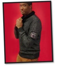 Macy's Sean John OLED sweater photo
