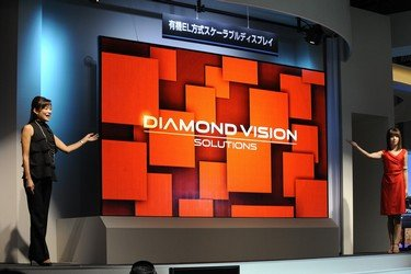 Mitsubishi 155'' Diamond-Vision OLED TV photo