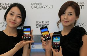 Galaxy S II girls photo