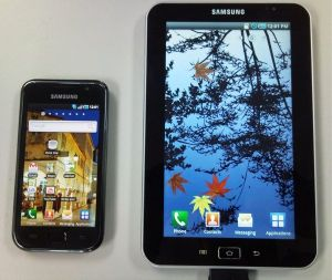Samsung Galaxy S and Galaxy Tab