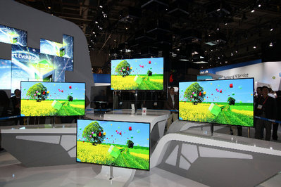 Samsung OLED TVs at CES