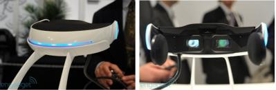 Sony 3D OLED HMD prototype photo