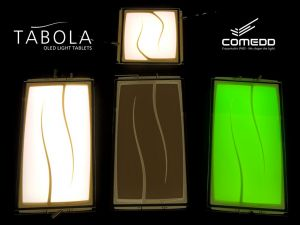 TABOLA OLED lighting panels photo