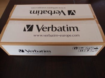 Verbatim Velve OLED lighting box photo