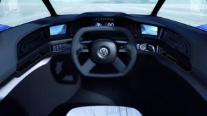 VW L1 concept car dashboard photo