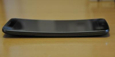 LG G Flex curved photo