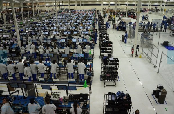 Moto X factory in the US