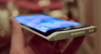 Samsung 5'' curved YOUM display prototype