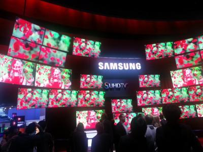 Samsung SUHD at CES 2015 photo