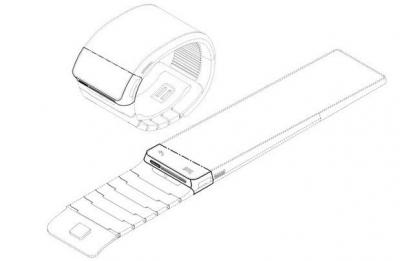 Samsung flexible watch patent